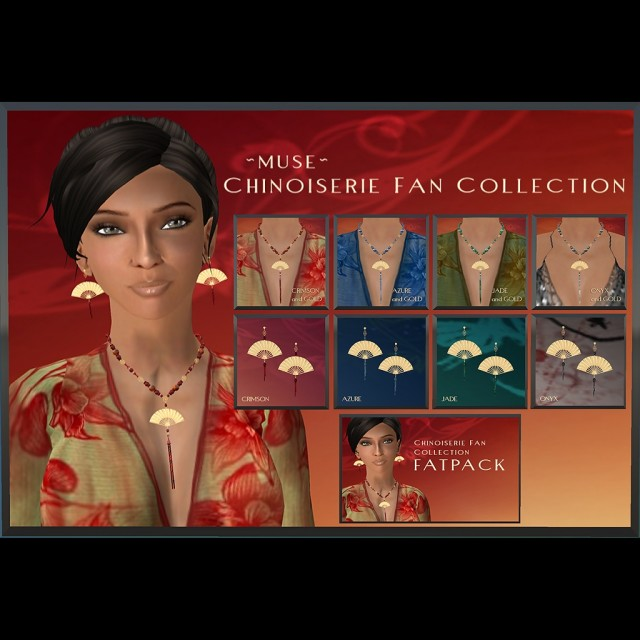 Chinoiserie Fan Collection