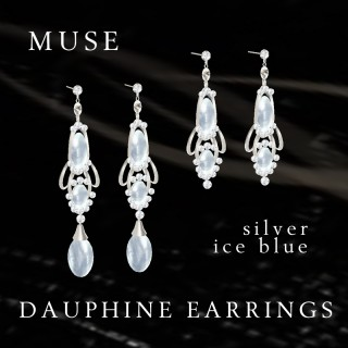 Dauphine Silver/Ice Blue