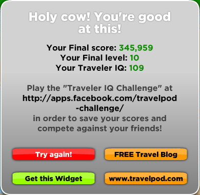 Traveller Challenge