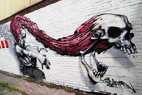 amazing-street-art-skull