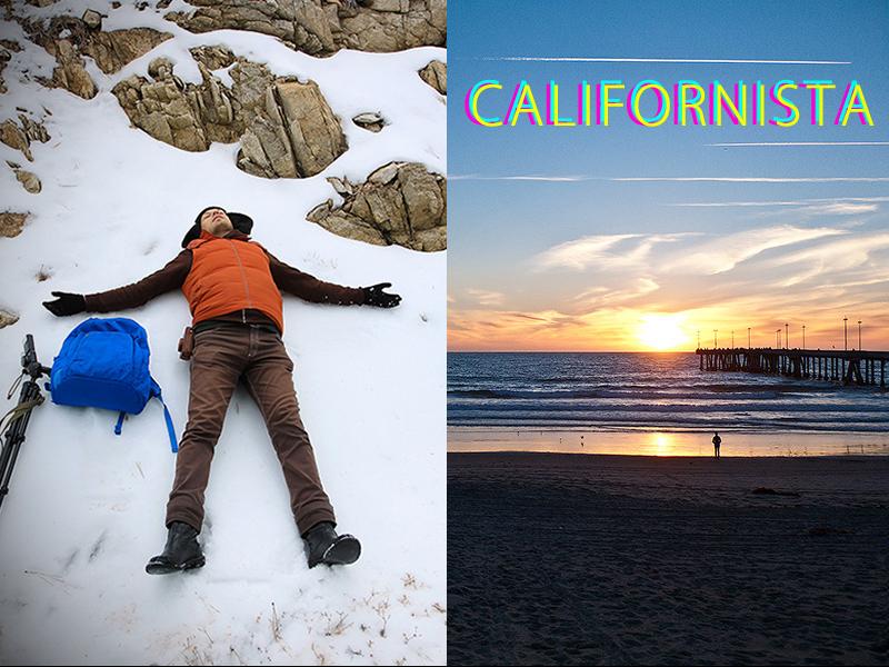 Рождество в Калифорнии: снег, пальмы и тихоокеанский бриз 000