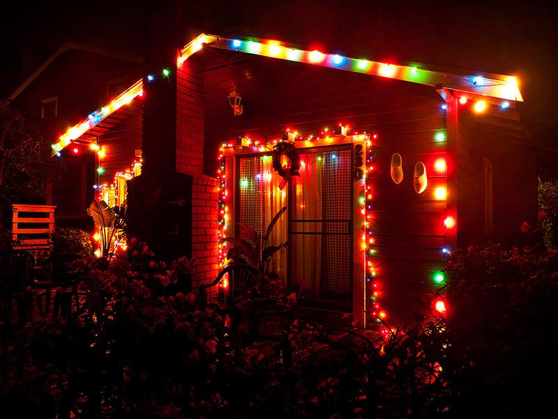 Рождество в Калифорнии: снег, пальмы и тихоокеанский бриз 080