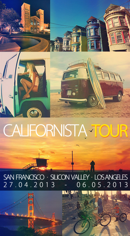 CALIFORNISTA TOUR 2013