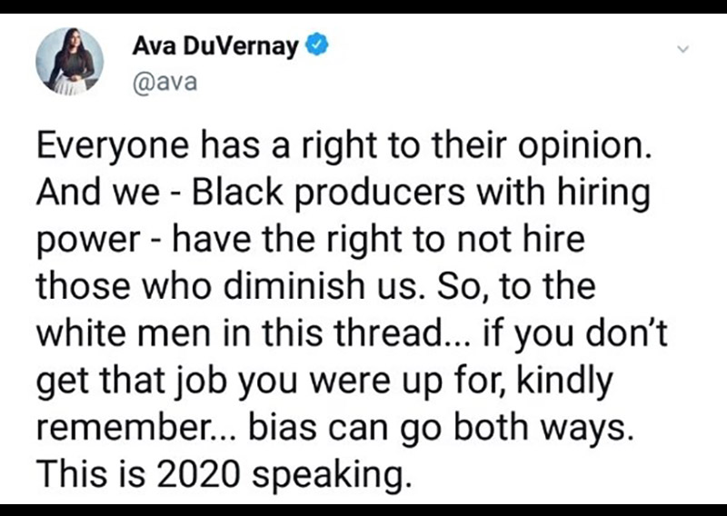 Обратный расизм: Белые мужчины в Голливуде жалуются, боятся и теряют работу.