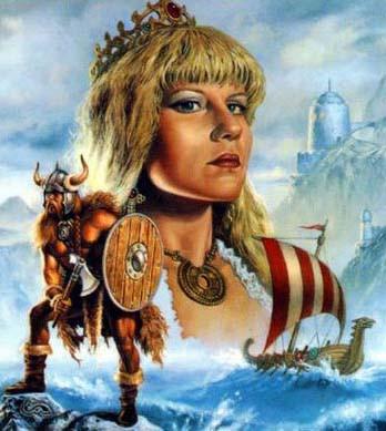 viking_princess-clyde-caldwell