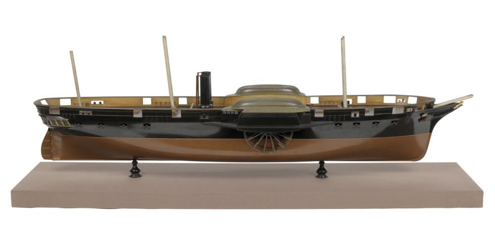 HMS Tiger (1849); Warship; Frigate; Paddle