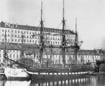 La corvette Eurydice (1849-1877)