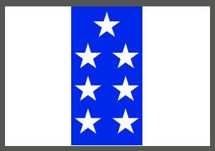 Флаг Эквадора 1845—1860