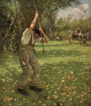henry_herbert_la_thangue_ra_shaking_down_cider_apples_d5396423h