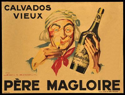 Poster Père Magloire - MadeinCalvados_com