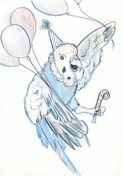 Party Parakeet Minion