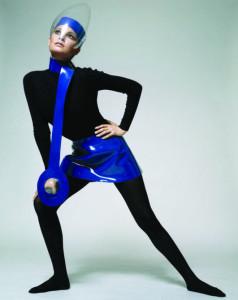 Raquel Welch wearing a 1970 Pierre Cardin outfit