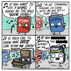 Urban Dictionary comic