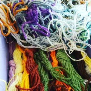 Yarn tangle