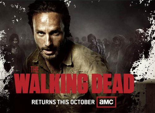 the walking dead season 3 comic con poster 0 rick