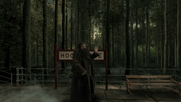 hagrid at hogsmeade - header