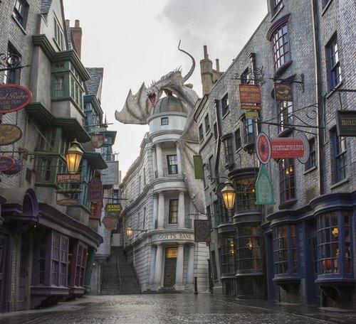 Diagon Alley - Universal  Image