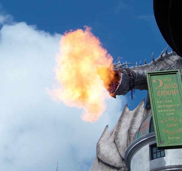 gringotts dragon