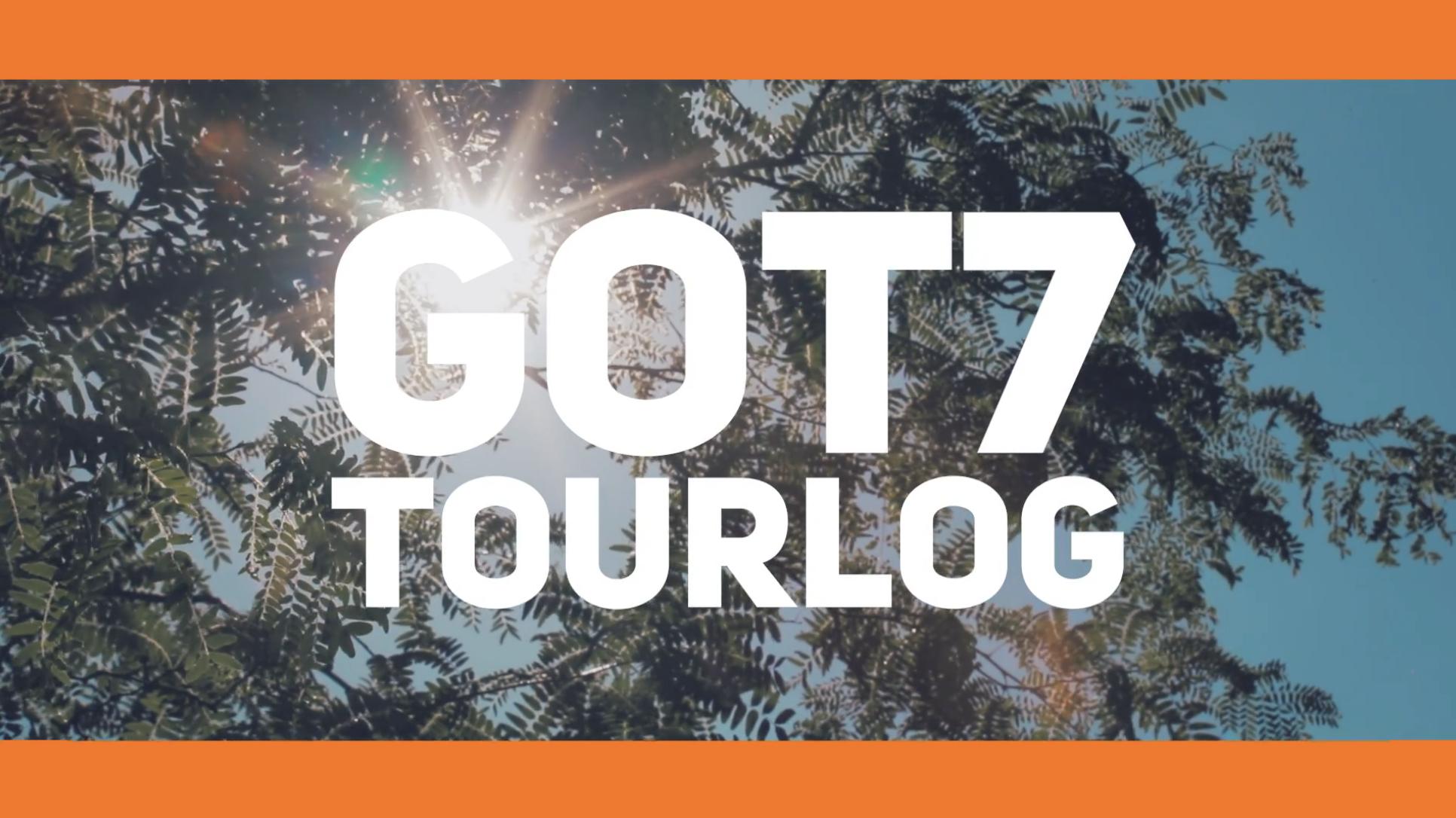 GOT7 TOURLOG