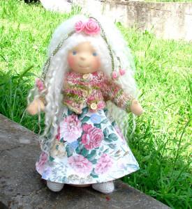 waldorf doll Flora