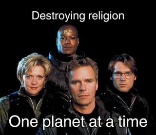 Destroying Religion