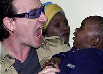 Bono's doppelgänger