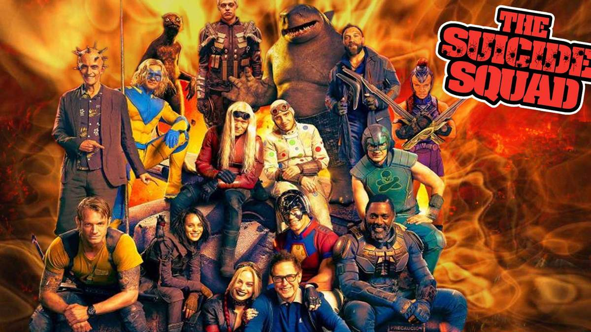 Отряд самоубийц: Миссия навылет. The Suicide Squad. Супергеройский фильм.  Warner Bros. Pictures. Режиссёр и сценарист Джеймс Ганн. IMDb: 7.30