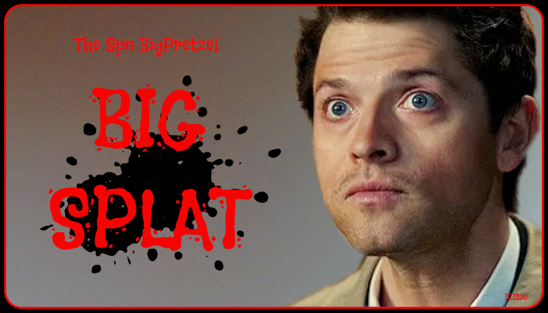 Cas looks on in astonishment at a Big Splat