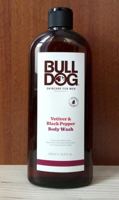 Bulldog Skincare For Men, гель для душа с ветивером и черным перцем