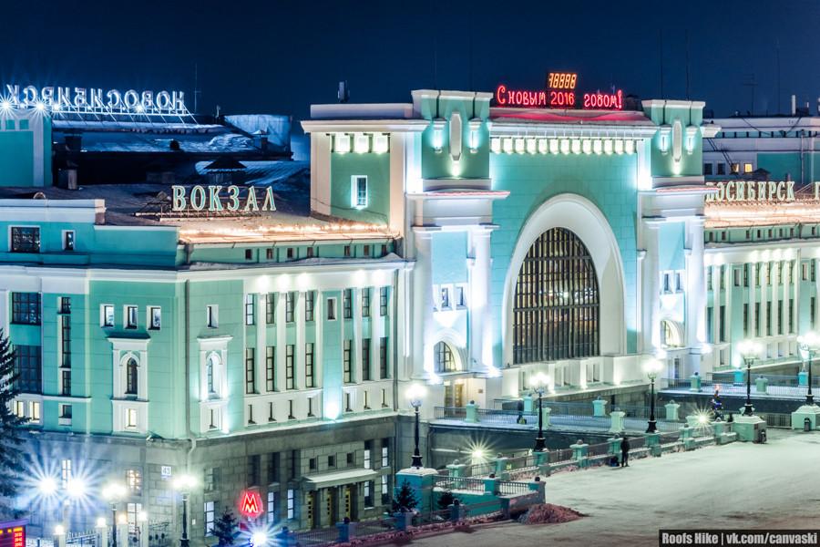 Зимний вокзал новосибирск главный фото