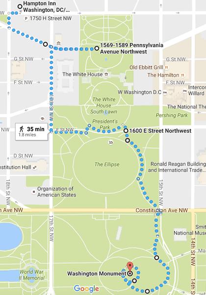 Midnight Walk, parts 1-2. Washington DC. Nov 2016.