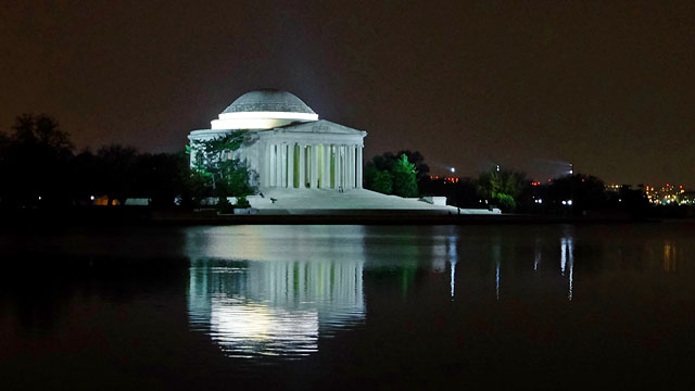 Thomas Jefferson Memorial, Washington DC. Nov 2016.