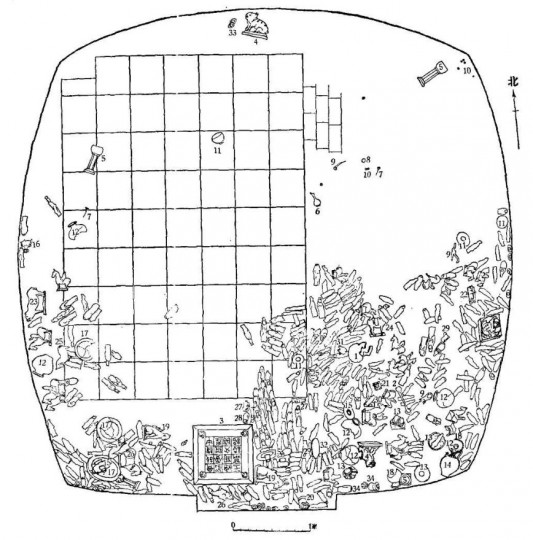5. План погребальной камеры