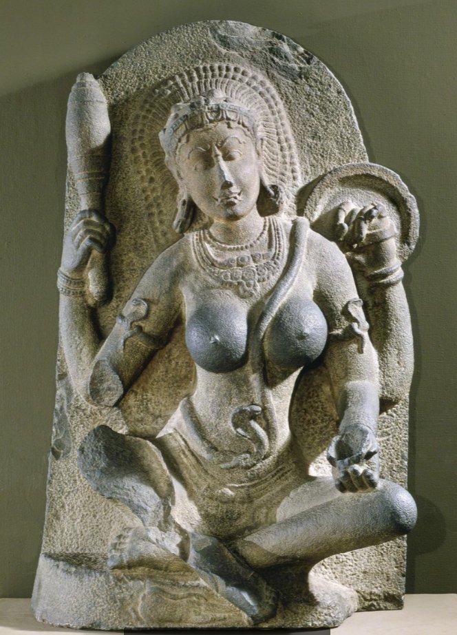 10. Йогини. Канчи, Индия, 900-975. Детройтский институт искусств