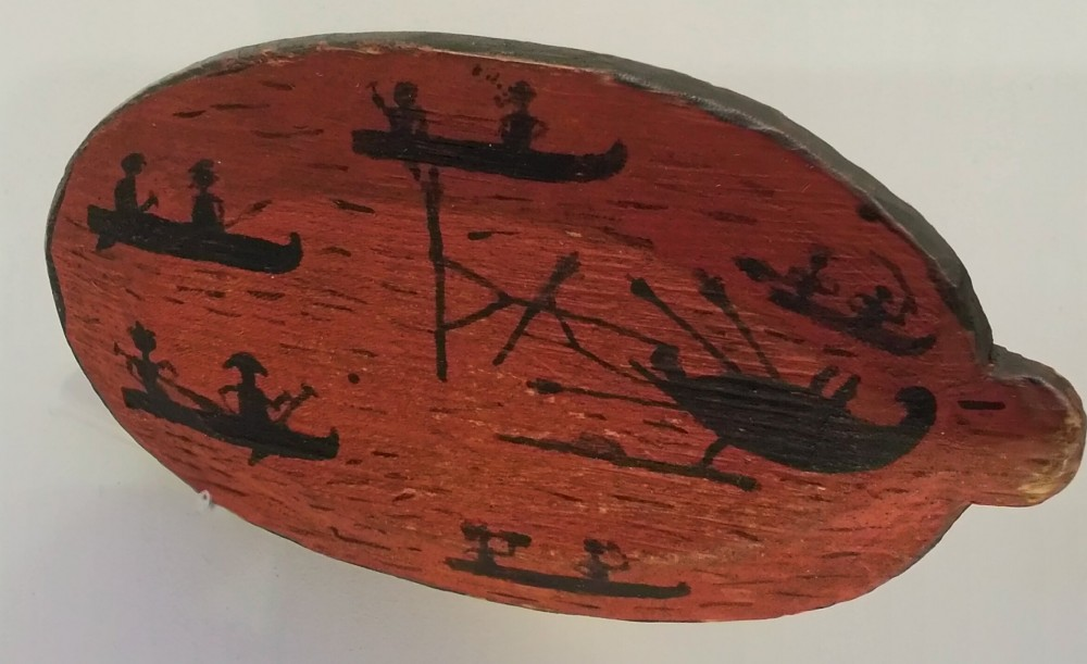 9. Крышка колчана, Канада до 1888 г. Британский музей