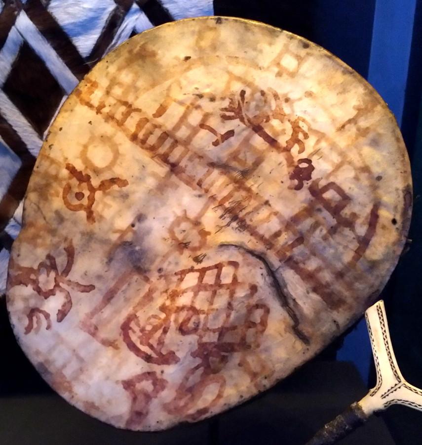 11. Бубен шамана, Норвегия-Швеция, до 1681 г. Британский музей