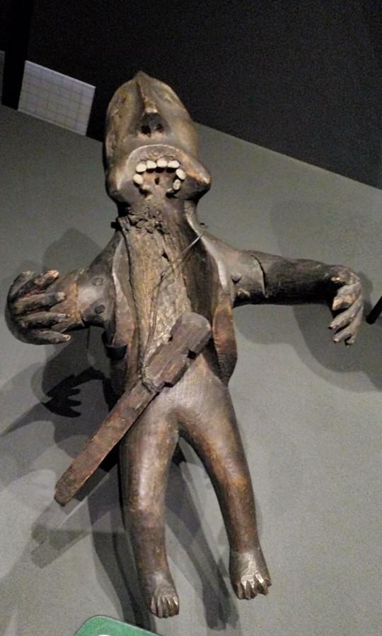 12. Фрагмент бубна, Аляска до 1855. Британский музей