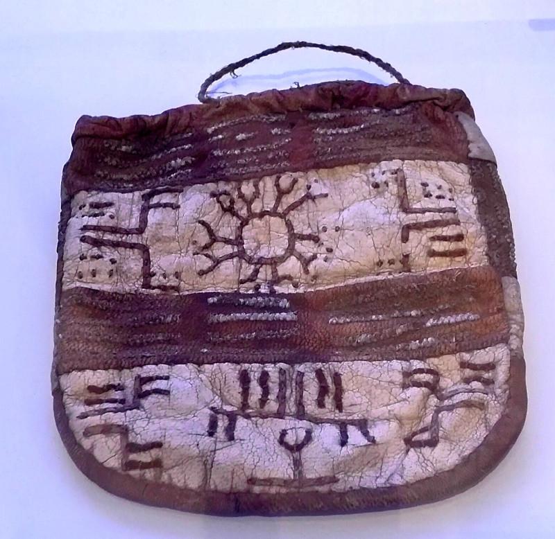 23. Табачный мешок. Чукчи до 1850. Британский музей