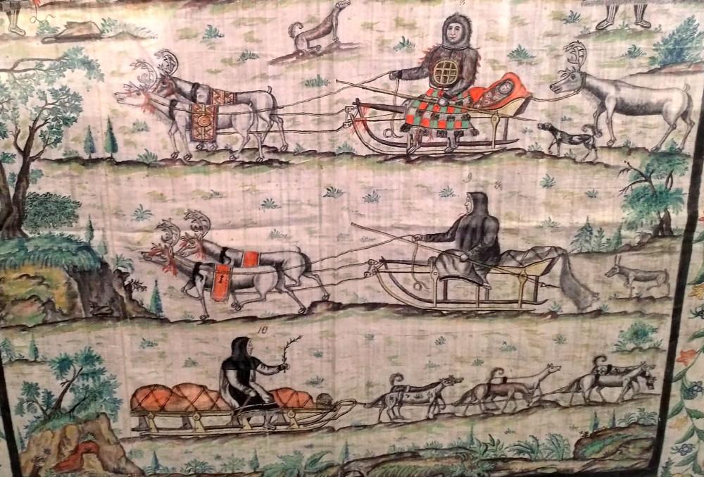 29. Сцены из жизни хантов. Акварель. Николай Шахов (1770-1840), МАЭ