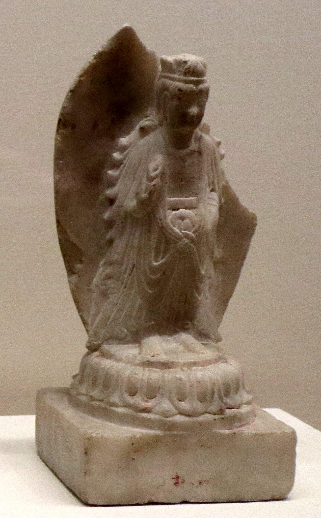 Пекин, Национальный музей. Династия Сев. Ци (кон 6 века)
