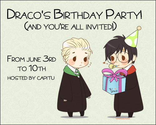 Draco's birthday party 2