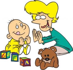 woman-and-child-playing-Pattycake-1024x989