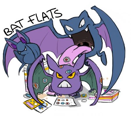 bat flats