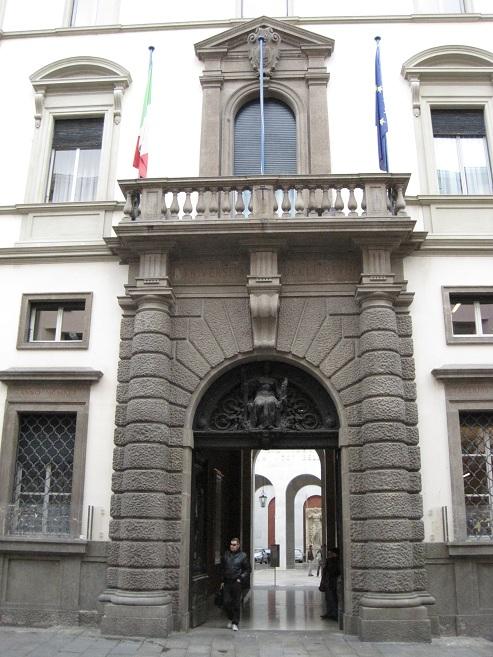 Падуя - университет в палаццо дель Бо