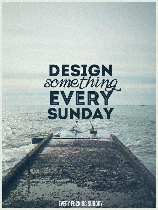 design something every sunday