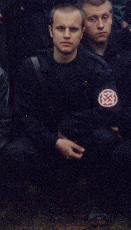 Павел Губарев в форме РНЕ