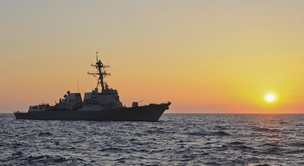 US_Navy_110616-N-YM590-301_USS_Truxtun_(DDG_103)_transits_the_Mediterranean_Sea