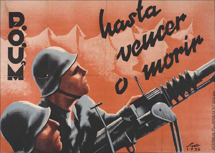 Победить_или_умереть!_Плакат_ПОУМ_1936