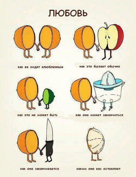 картинка про любовь смешная