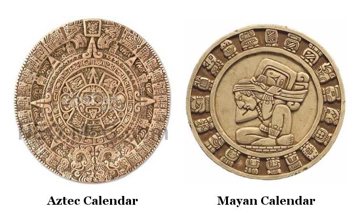 Календари Ацтеков и Майя